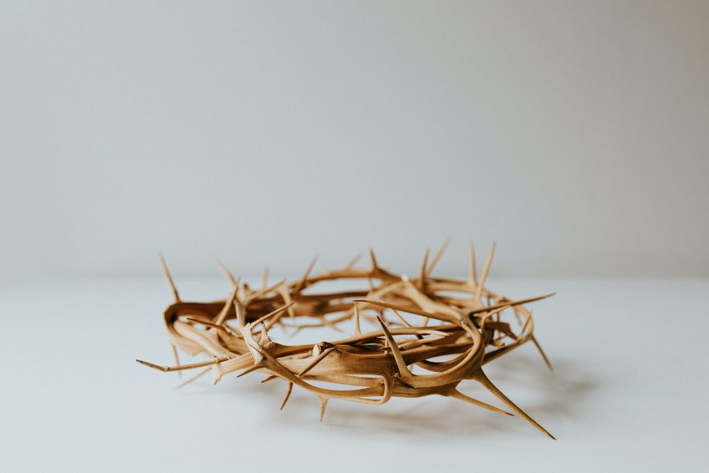 A replica of The crown of Thorns worn by Jesus during His passion and Death